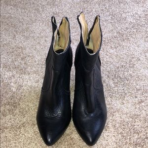 Frye Black Ankle Boots